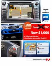 Toyota Hilux 2014 to 2015 May APPS Audio retrofit Sat Nav Upgrade Brunswick Moreland Area Preview