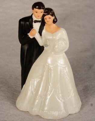 Bride Cake - Bride And Groom Cake Topper Figure 4 3/4