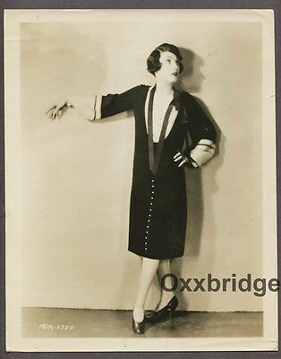 PAULINE STARK Flapper Girl CLARENCE BULL 1926 Fashion Art Deco Jazz Baby Photo