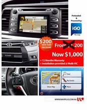 Toyota Kluger 2014 to 2015 May Data Free Sat Nav retrofit upgrade Brunswick Moreland Area Preview