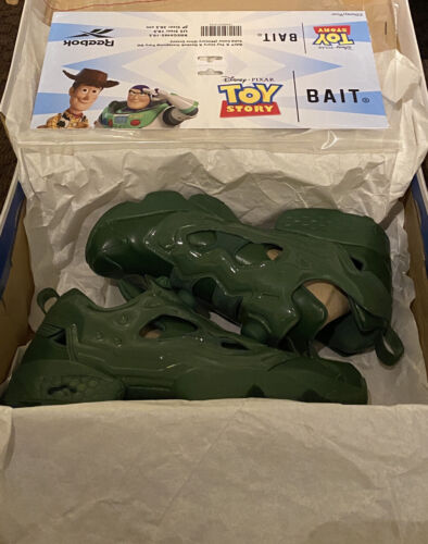 Reebok Instapump Fury Bait x Toy Story Army Men Green Size 10.5 *IN HAND* New
