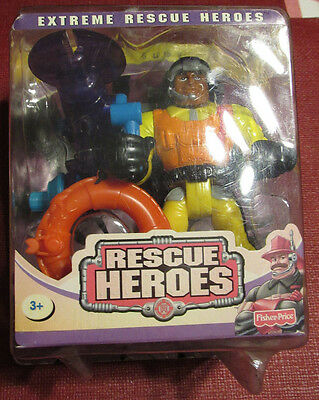 Fisher Price Rescue Heroes Bob Buoy Action Figure Toy - New