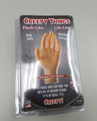 Creepy Halloween Things (Creepy Things - Small Left Flesh Like Hand Costume)