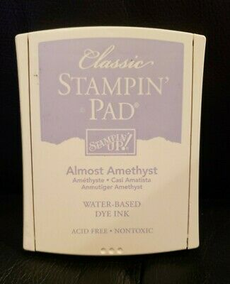 Purple Ink Pad - Stampin Up Ink Pad Almost Amethyst Purple Teacher Card Making Craft Scrapbooking