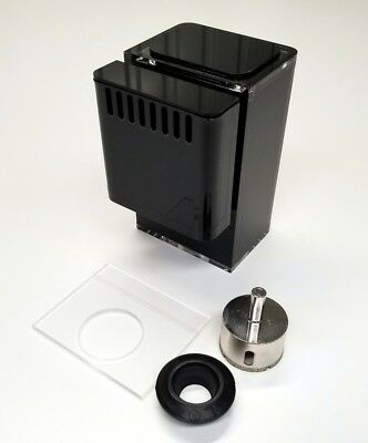 MODULAR MARINE nano 400 gph LOW PROFILE Overflow Box with REMOVABLE WEIR