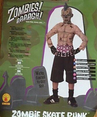Rubie's Zombie Skate Punk Child's Costume, Medium (8-10) - Baby Punk Costume