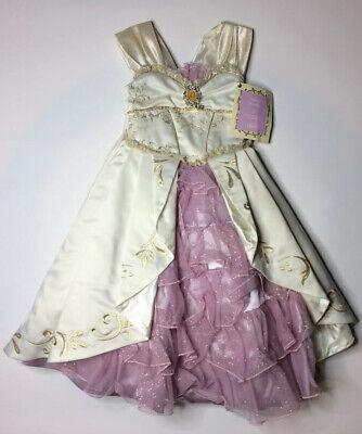 Tangled Wedding Dress Costume (Rare New Disney Tangled Rapunzel Limited Edition Wedding Dress Costume 4000 Sz)