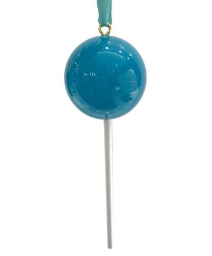 OPAQUE Aqua Green Candy Lollipop Christmas Ornament Pick Prop 4th of July