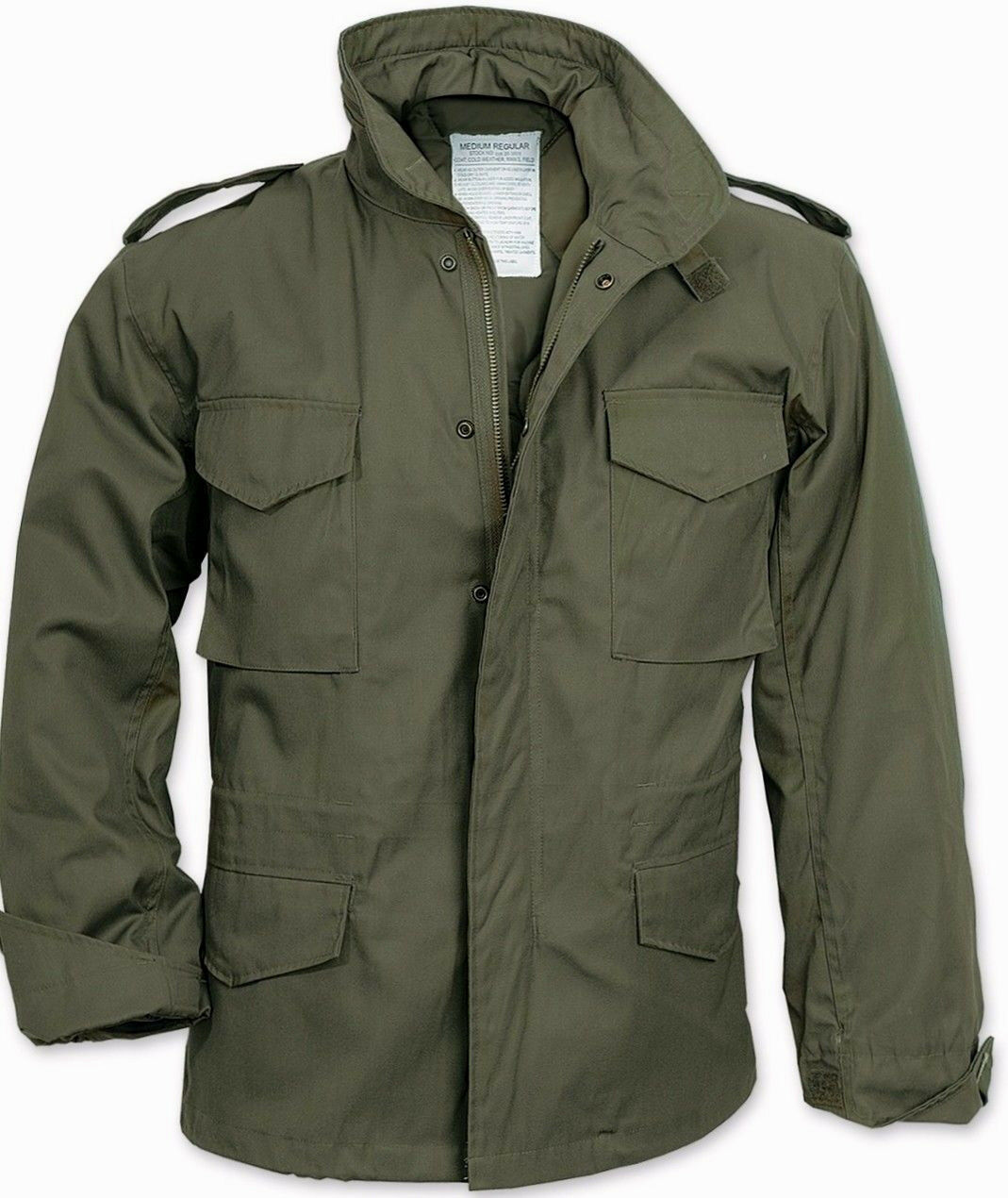 M-65 Field Jacket Olive Drab OD GREEN US Army Marine Corps N