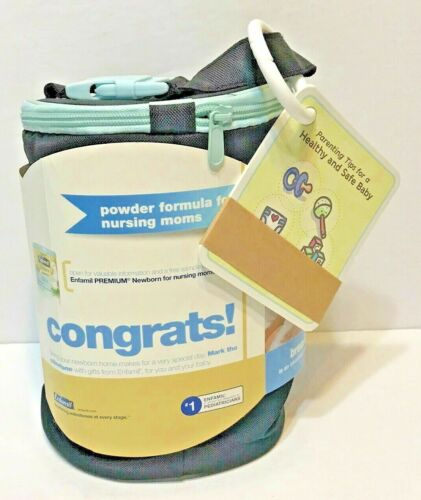 Enfamil Reusable Cooler Bag Zipper New With Tags No Formula Included