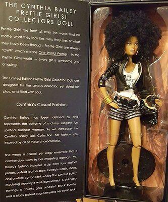 Cynthia Bailey Barbie/Prettie Girl African American/Black Collectors Doll