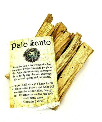 "Palo Santo 12 Aromatic ""Holy Wood"" Purifying & Cleansing Energy Sticks"