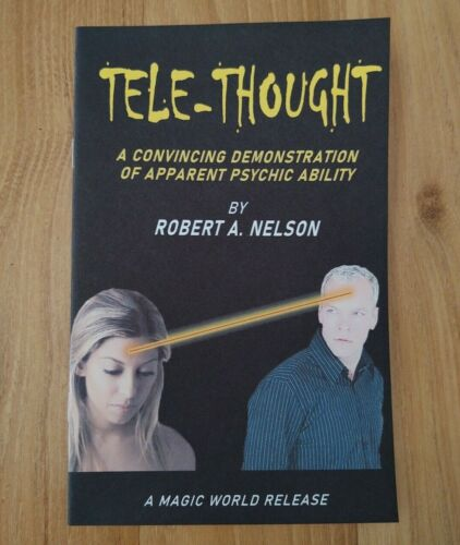 Tele-Thought by Robert A. Nelson (for psychic entertainers and mentalists)