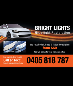 Bright Lights Headlight Restoration Worongary Gold Coast City Preview