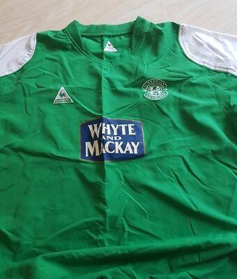 Hibernian Football Shirt 2004-05 (xxl) Le Coq Sportif image