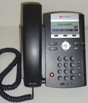 Polycom Soundpoint Ip 335 Phone Poe Voip Phone 2201-12375-001 Hd Voice