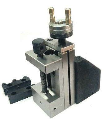 Mini Vertical Slide With 2 50 Mm Steel Vice-instant Milling-on Bench Lathe