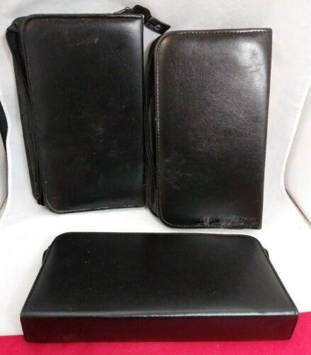 Vigor / Grobet Small Dispensing Tool Kit Case / 14x8x2 / Lot Of 3 / Black