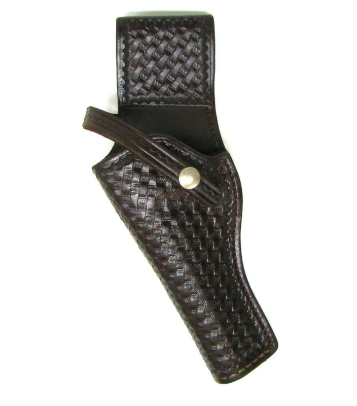 Left Hand Holster fits 5-inch Smith & Wesson, Ruger, Colt