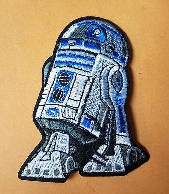 Star Wars R2 D2 Aufnäher 10.2cm Groß Aufnäher gebraucht kaufen  Versand nach Germany