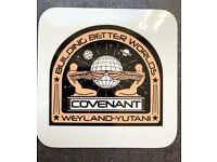 ALIEN COVENANT SHIPS CREW  PATCH IN  LoPro POLYFLEX 2D POLYMER LP76