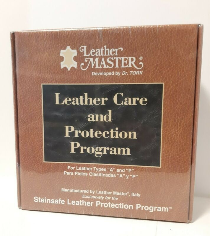 Leather Cleaning Master Care Protection Kit Type A & P Brand New Sealed