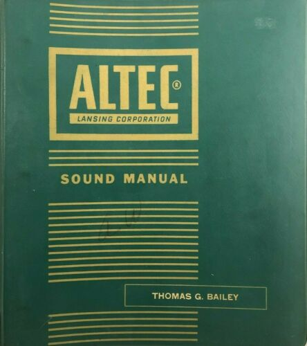 ;VINTAGE ALTEC LANSING SOUND SYSTEM & MIC MANUAL SPECIFICATIONS AND SCHEMATICS