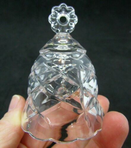 """Small Crystal Bell 2.75"""" Tall"""
