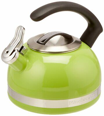 KitchenAid KTEN20CBKL 2.0-Quart Kettle with C Handle and Trim Band - Sunkisse...
