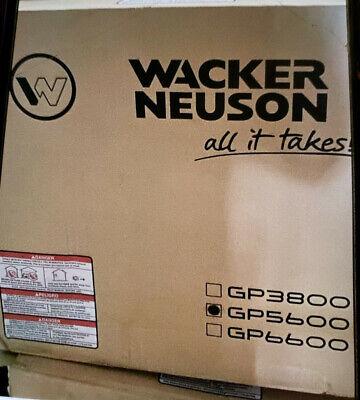 Wacker Neuson Gp5600a Gas Generator New In Box