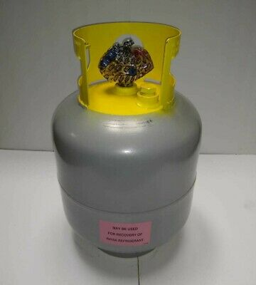 New Refrigerant Recovery Reclaim Cylinder Tank - 50lb Pound