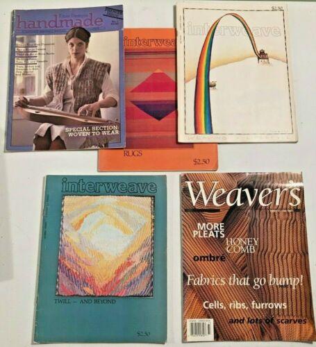 Lot of 5 Interweave, Weaver