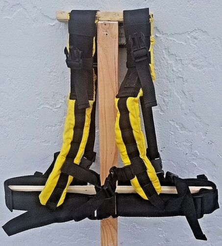Firefighter Wildland Web Gear Duty Belt & Harness USFS BLM CDF NPS Fireman