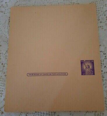 Lot of 24 Vintage USPS 3 cent Purple STATUE OF LIBERTY Unused Postcards RARE