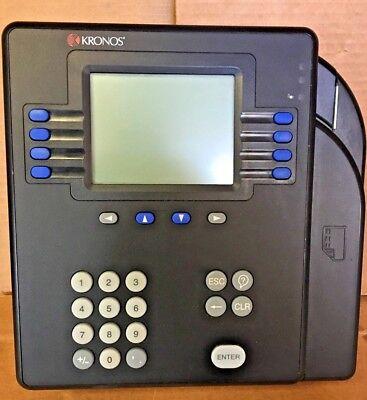 Kronos Clock System 4500