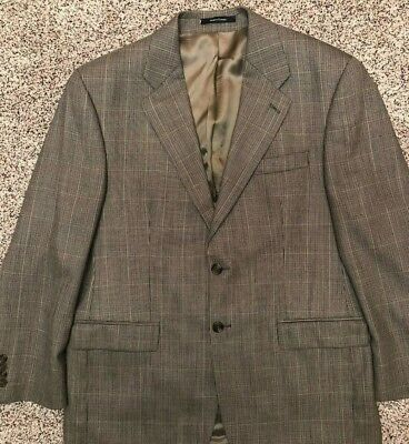 Chaps Ralph Lauren brown Size 40R 2 button sports jacket