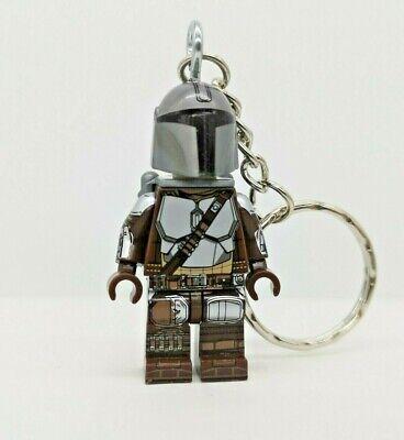 Mandalorian Minifigure Keyring- Star Wars - UK Seller