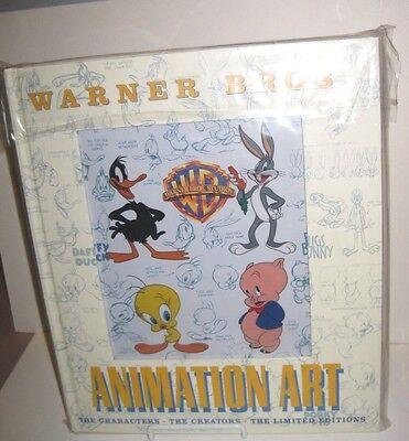 Warner Brothers Animation Art Book 1997 1st Edition Beck Friedwald Artwork Art