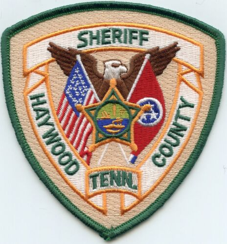 HAYWOOD COUNTY TENNESSEE TN Dark Green Border SHERIFF POLICE PATCH