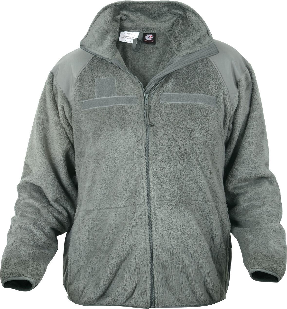 Foliage Green ECWCS Gen III Level 3 Military Soft Polar Fleece Jacket