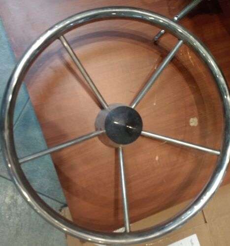 Chrome Boat Wheel