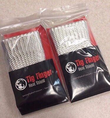 2 Pack The Original Tig Finger Weld Monger Welding Glove Heat Shield Cover