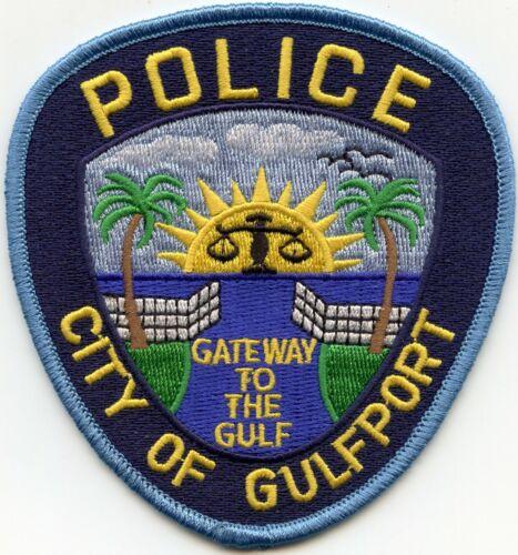 GULFPORT FLORIDA FL Gateway To The Gulf POLICE PATCH