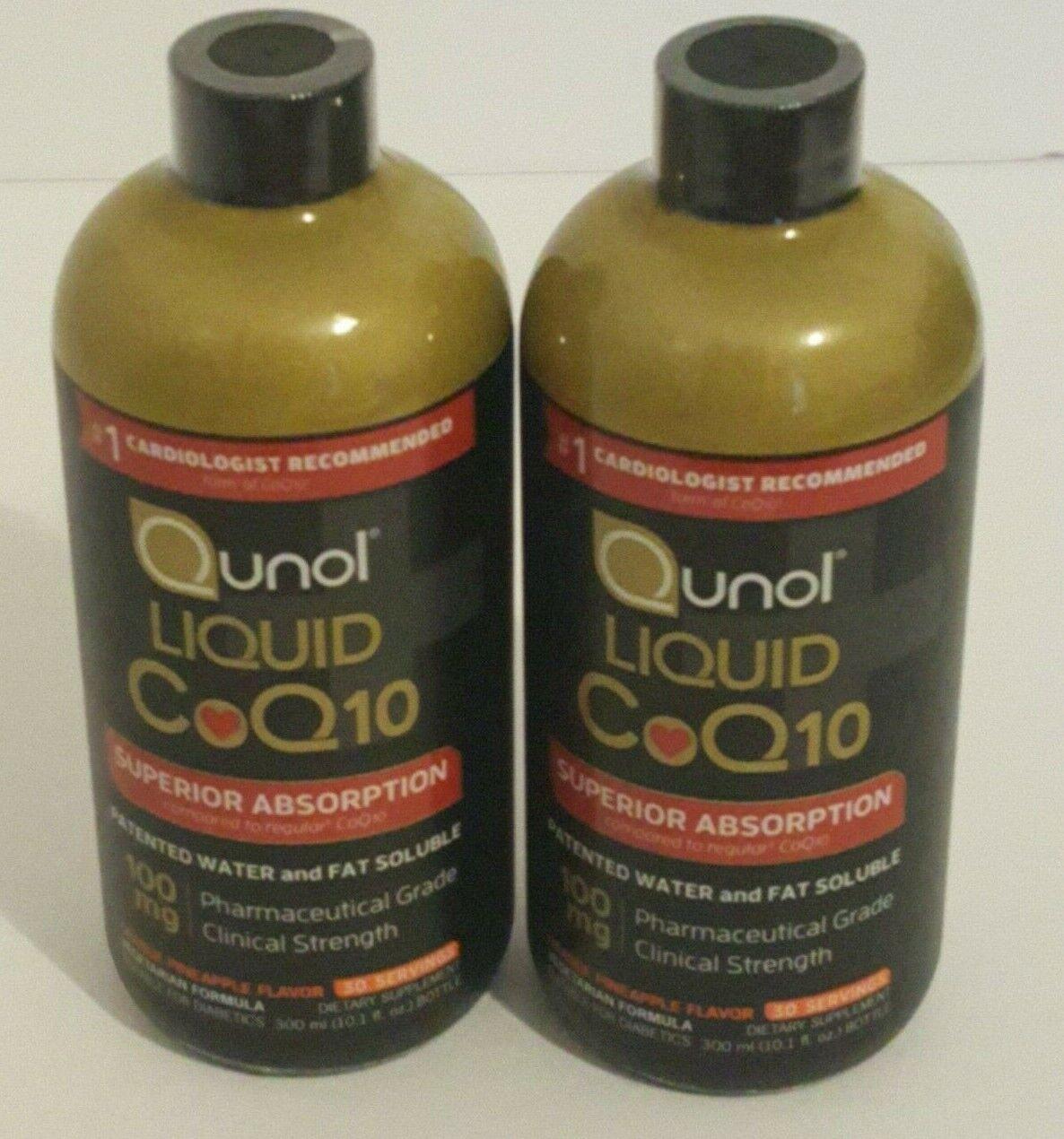 liquid coq10 100mg supplement superior absorption orange