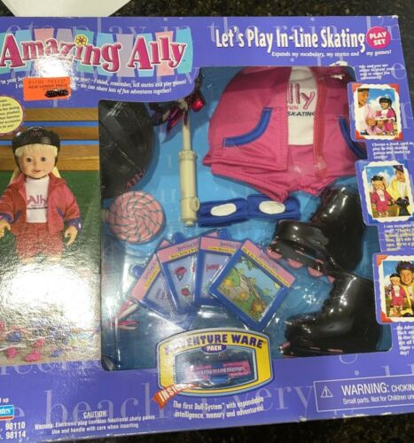 2000 Amazing Ally Playmates Interactive Doll Let