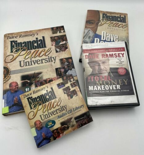 Financial Peace University Resources Books & Audio CD - Dave Ramsey