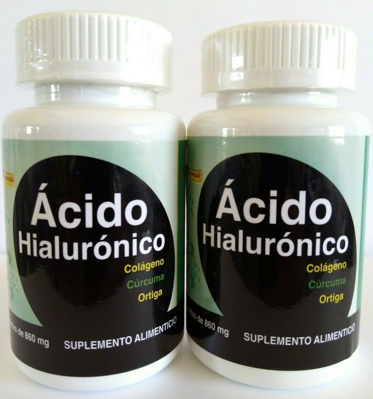 2X ACIDO HIALURONICO 100% ORIGINAL COLAGENO CURCUMA ORTIGA MSM HYALURONIC ACID