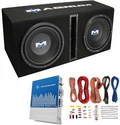 MTX Magnum MB210SP 10 400W RMS Dual Car Loaded Subwoofer Pac