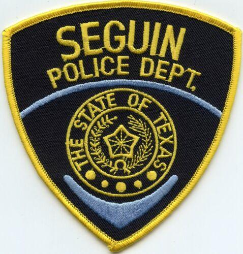 SEGUIN TEXAS TX POLICE PATCH