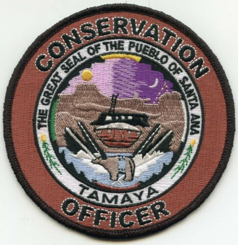 PUEBLO OF SANTA ANA NEW MEXICO NM CONSERVATION OFFICER DNR TRIBAL POLICE PATCH